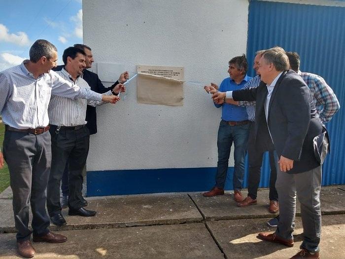 Inauguraron el edificio y tres grupos electrógenos en San Cristóbal - El Departamental