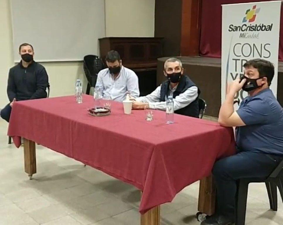 Reunión Junta de Defensa Civil 1